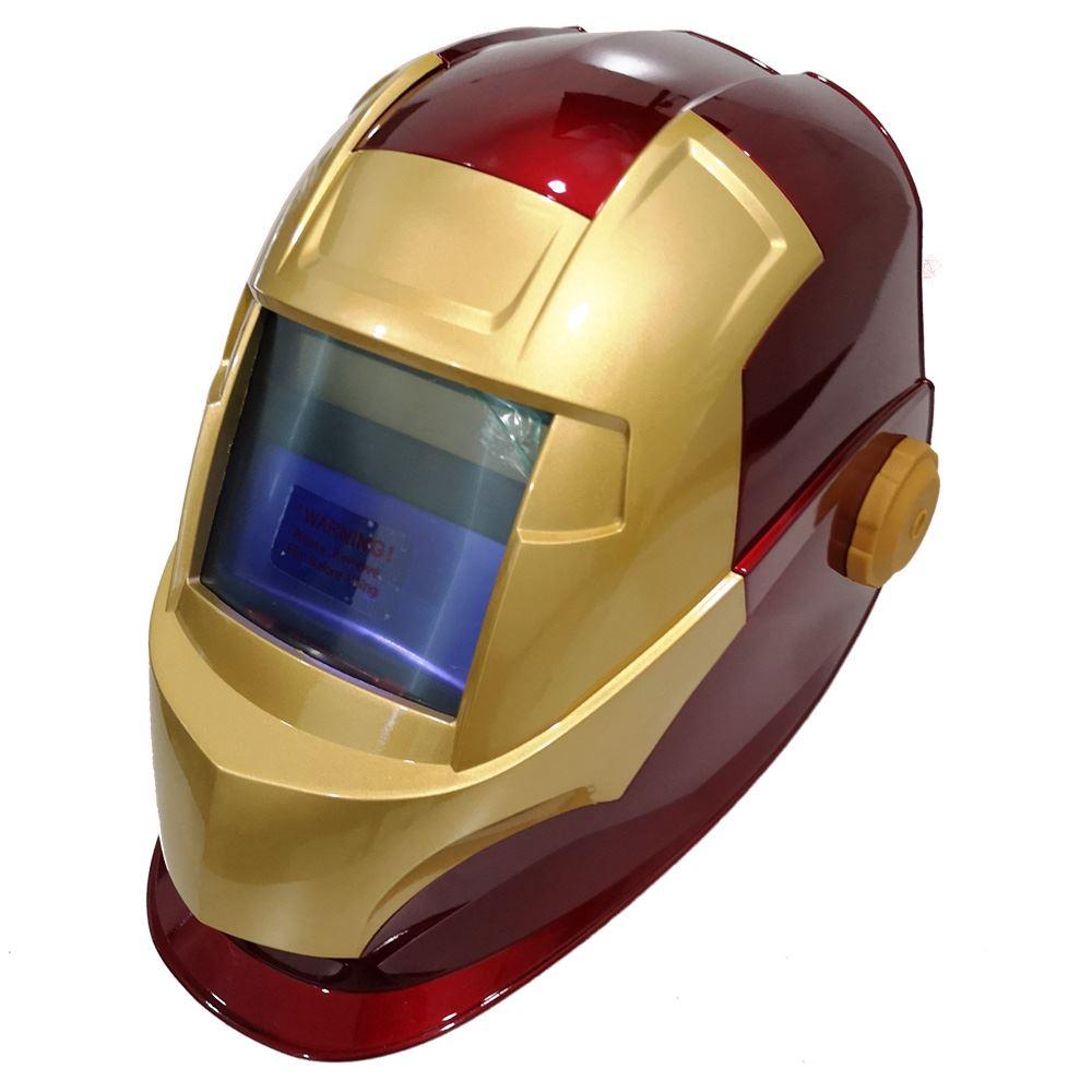 รูปภาพของ หน้ากากเชื่อมปรับแสงอัตโนมัติ SUPER HERO