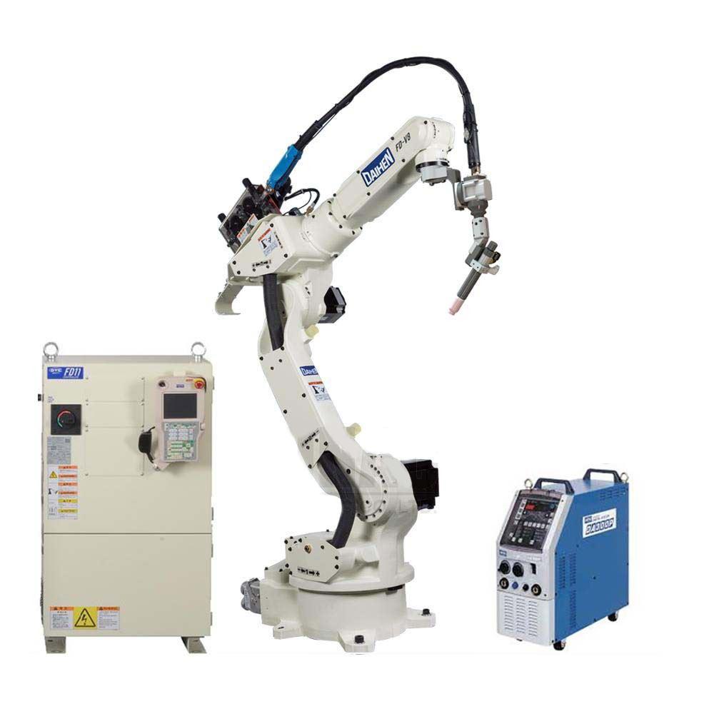รูปภาพของ ROBOT FD-V8 with DA300P and TIG Filler FW, SUS wire 0.8 mm.