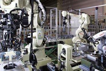 รูปภาพสำหรับประเภท หุ่นยนต์อุตสาหกรรม